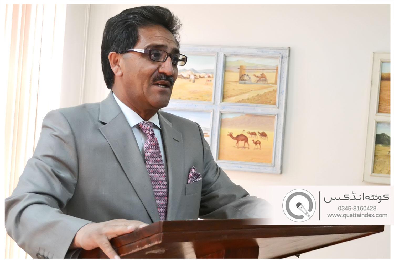 جامعہ بلوچستان کو 2013 کے برے حالات سے نکال دیا ہے۔ پروفیسر ڈاکٹر جاوید اقبال