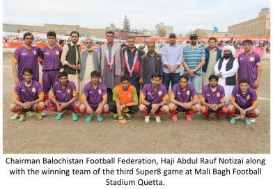 یوفون فٹ بال ٹورنامنٹ ،افغان فٹ بال کلب چمن اور جھالاوان فٹبال کلب خضدار نے فائنل کیلئے کوالیفائی کرلیا