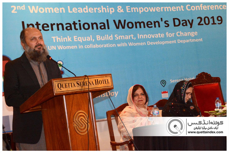 خواتین کو حق جائیداد میں حصہ دار بنانے کا قانون بہت جلد پاس کرایا جائے گا، جام کمال خان