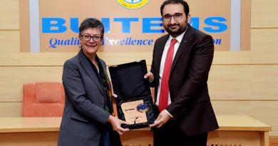 آسٹریلیا بلوچستان میں متعدد شعبوں میں منصوبے جاری رکھے ہوئے ہیں۔ ہائی کمشنر