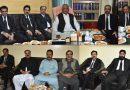 ایڈووکیٹ جنرل بلوچستان ارباب طاہر کاسی اور پراسیکیوٹر جنرل امیر زمان جوگیزئی کے اعزاز میں استقبالیہ